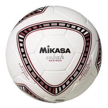Voetbal Mikasa Zebah Aerinos Rood - Wit