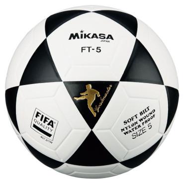 Voetbal Mikasa FT-5 Goalmaster Zwart - Wit