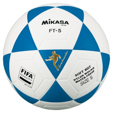 Voetbal Mikasa FT-4 Goalmaster Blauw - Wit