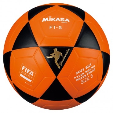 Voetbal Mikasa FT-4 Goalmaster Oranje - Zwart