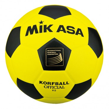 Korfbal Mikasa K3 Geel - Zwart