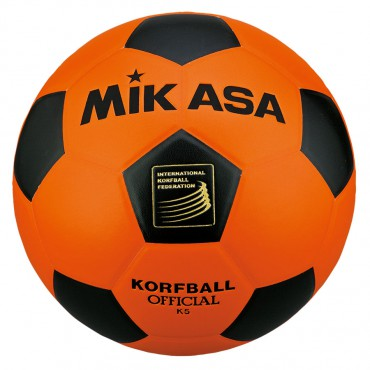 Korfbal Mikasa K5 Oranje - Zwart