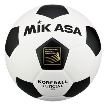 Korfbal Mikasa K5 zwart - wit