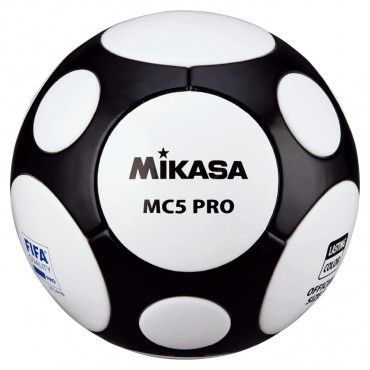 Voetbal Mikasa MC5 Pro Zwart-Wit