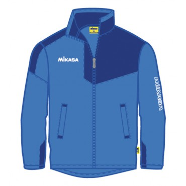 Trainingsjack Mikasa Inagi MT700 Royal - Navy - Wit